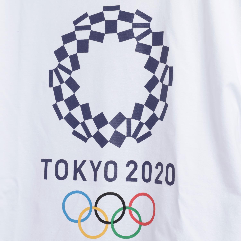 ロングTシャツ(東京2020オリンピックエンブレム)(ホワイト)