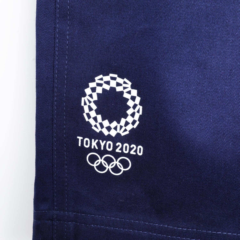 ツイルハーフパンツ(東京2020オリンピックエンブレム)(ネイビー)