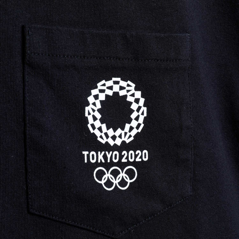 Tシャツ(東京2020オリンピックエンブレム)(ブラック)