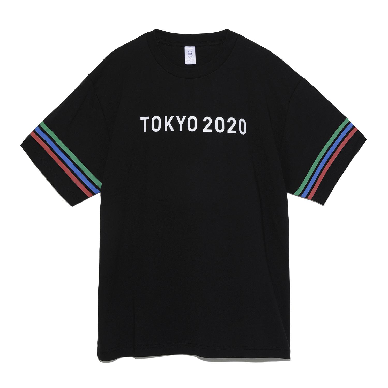 Tシャツ(東京2020パラリンピックエンブレム)(ブラック)