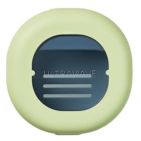 【2色セット(ピンク×パープル)】充電式歯ブラシ除菌キャップ[MDK-TS00]+ULTRAWAVEオリジナル歯ブラシ 『メディクダイレクト限定特典』USB-AC充電アダプタ|MEDIK【送料無料】