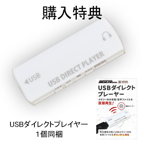 モバイルバッテリー型ボイスレコーダー [VR-MB500N]『メディクダイレクト限定特典』USB-AC充電アダプター/USBダイレクトプレイヤー|MEDIK【送料無料】