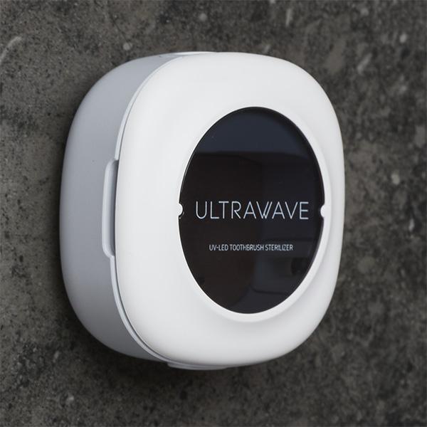 歯ブラシ除菌キャップ UV-C-LEDのコンパクトケースで除菌!おしゃれ・軽い・軽量設計な充電式除菌ホルダー MDK-TS05 MEDIK