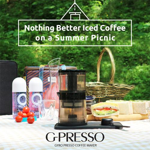 ジャイロプレッソ コールドブリュー コーヒーメーカー G-Presso Cold Brew MDK-GP01