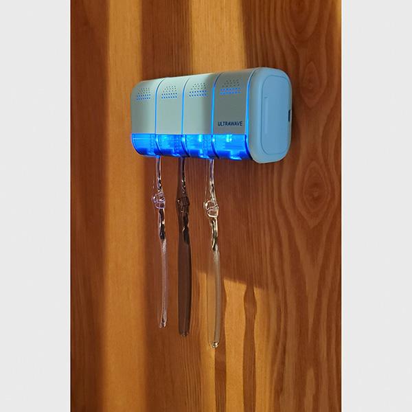 【11月初旬入荷予定・予約注文】歯ブラシ除菌ホルダー[MDK-TS04] UV-C LEDを採用した歯ブラシ除菌器。(今なら歯ブラシ除菌キャップ1個付き)【送料無料】|MEDIK(メディク)