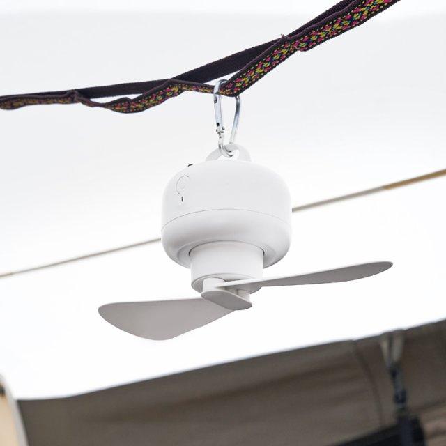 《楽天1位獲得》2021新型 小型扇風機 キャンプ ハンディ コンパクト 軽い 空気循環ファン BLDCモーター USB充電式 MCH-A012