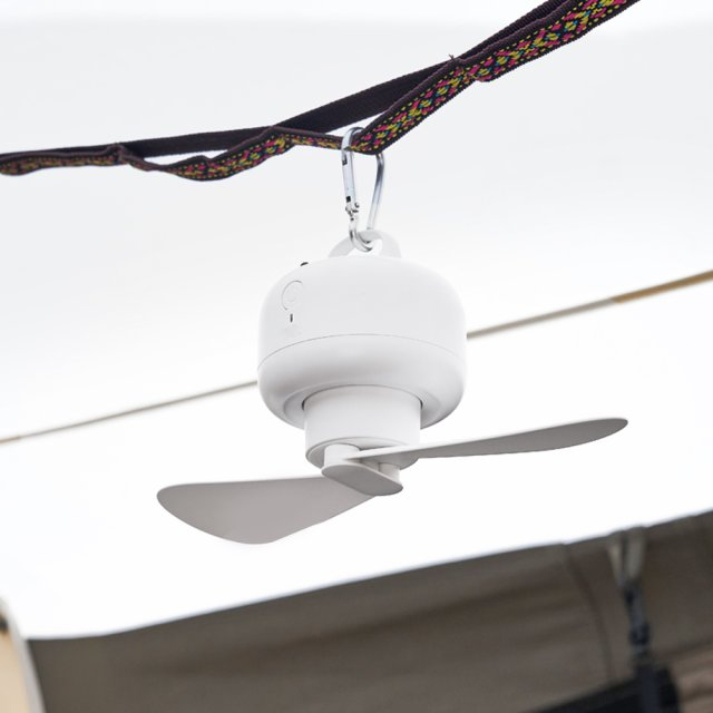 《2点セット》《楽天1位獲得》小型扇風機 リビング吊り上げ扇風機 USB充電式 MCH-A012 MEDIK