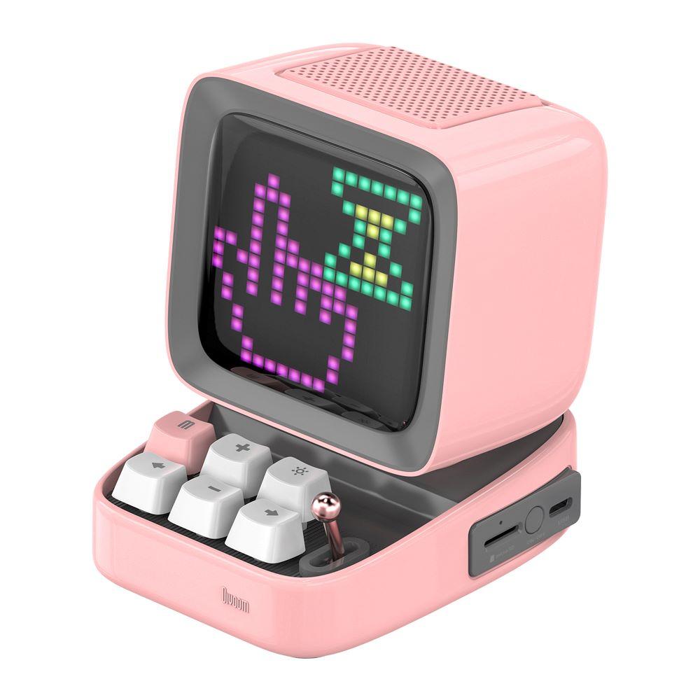 レトロパソコン型スピーカー「DITOO ピンク」