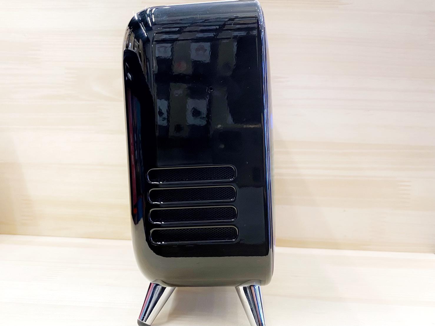 レトロテレビ型スピーカー「TIVOO MAX ブラック」