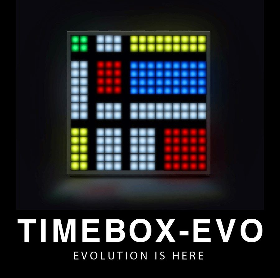 「TIMEBOX-EVO」ブラック