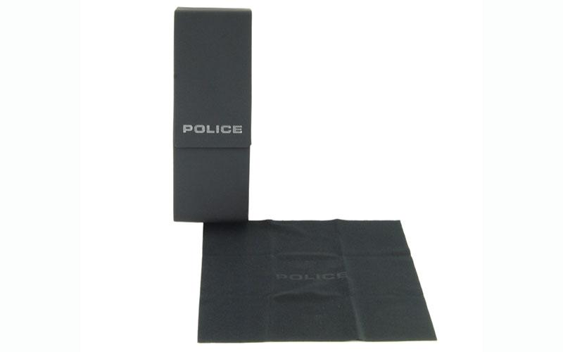 VPL754J 0S11 53 ポリス POLICE スクエア メタル