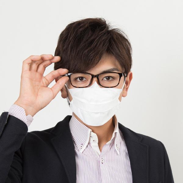 【送料無料】メガネ用マスク すこし小さめ 5枚入x8セット Ease Mask ZERO(イーズマスクゼロ)