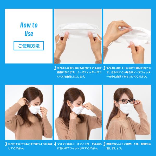 【送料無料】メガネ用マスク すこし小さめ 5枚入x12セット Ease Mask ZERO(イーズマスクゼロ)