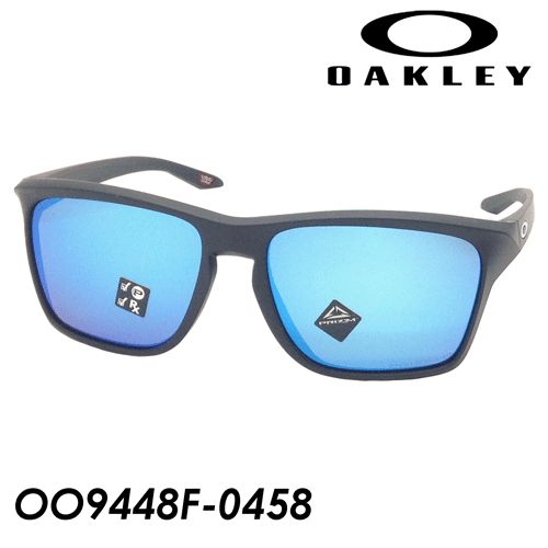 OAKLEY(オークリー) 偏光サングラス SYLAS(サイラス) OO9448F-0458 58mm [MATTE BLACK/PRIZM SAPPHIRE POLARIZED] アジアンフィット 国内正規品 保証書付