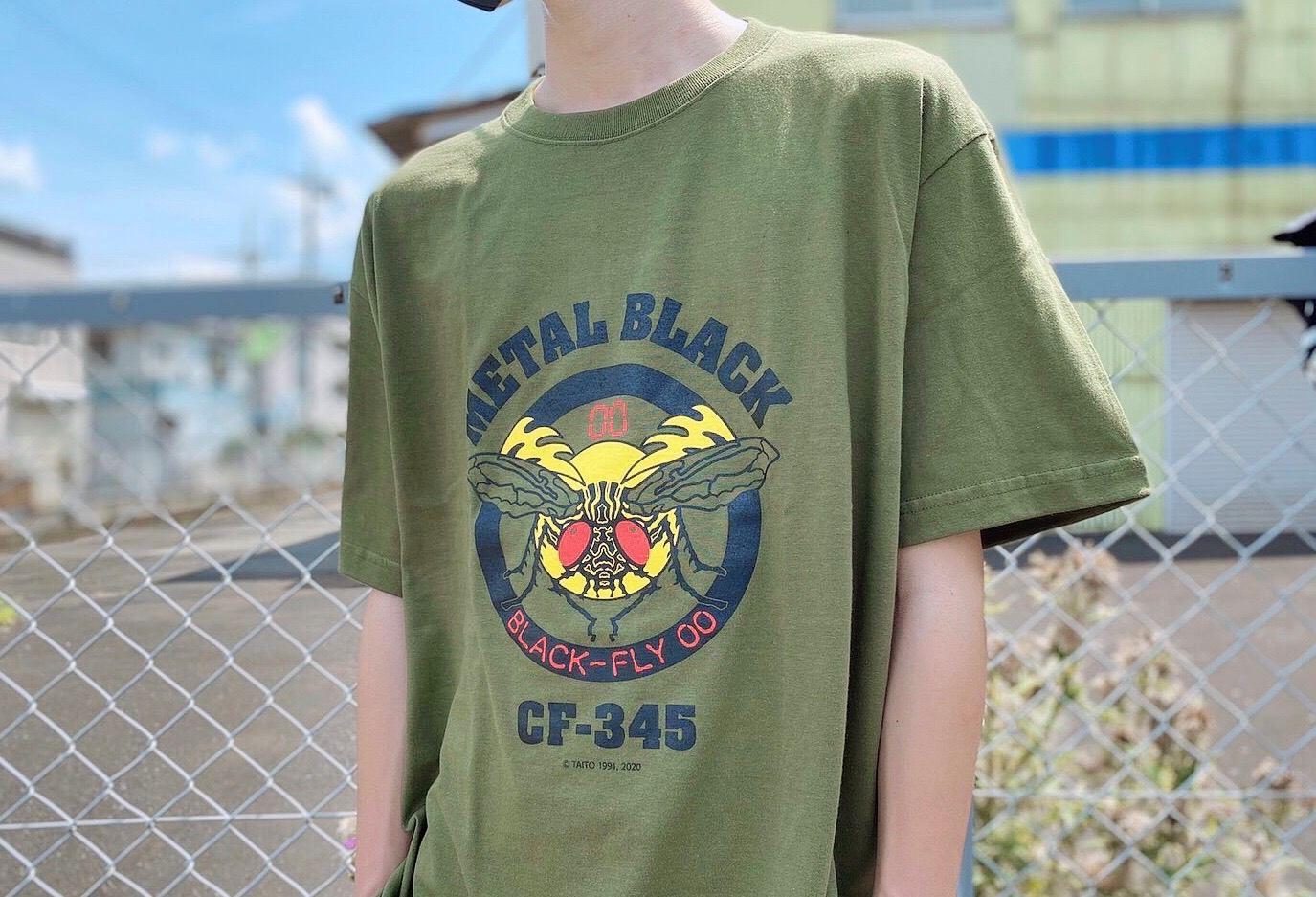 メタルブラック Tシャツ ブラックフライ