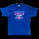 スペースインベーダー Tシャツ サイバー インディゴ