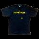 スペースインベーダー Tシャツ インサートコイン ブラック