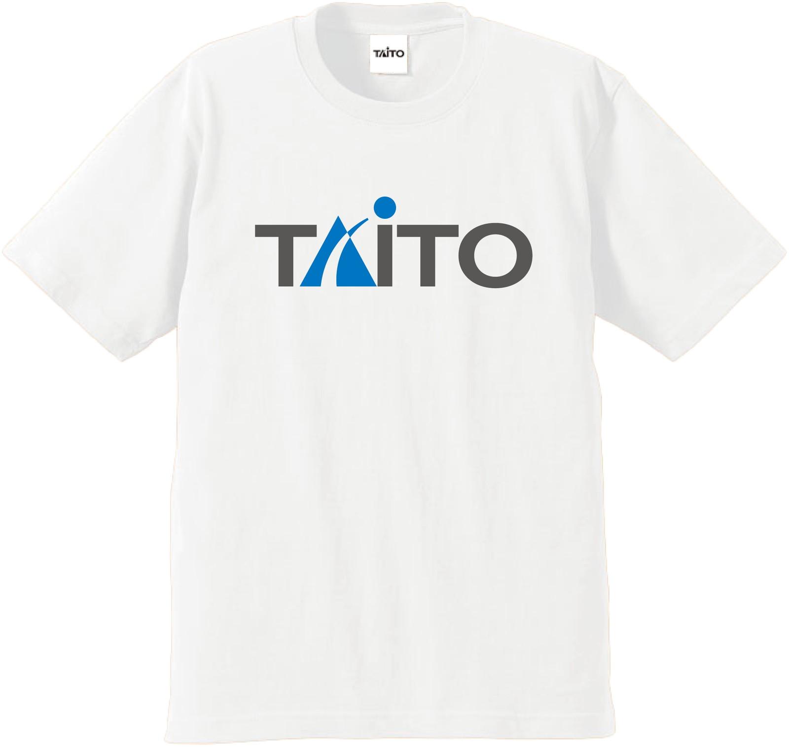 【SALE】 タイトー ロゴ Tシャツ ホワイト