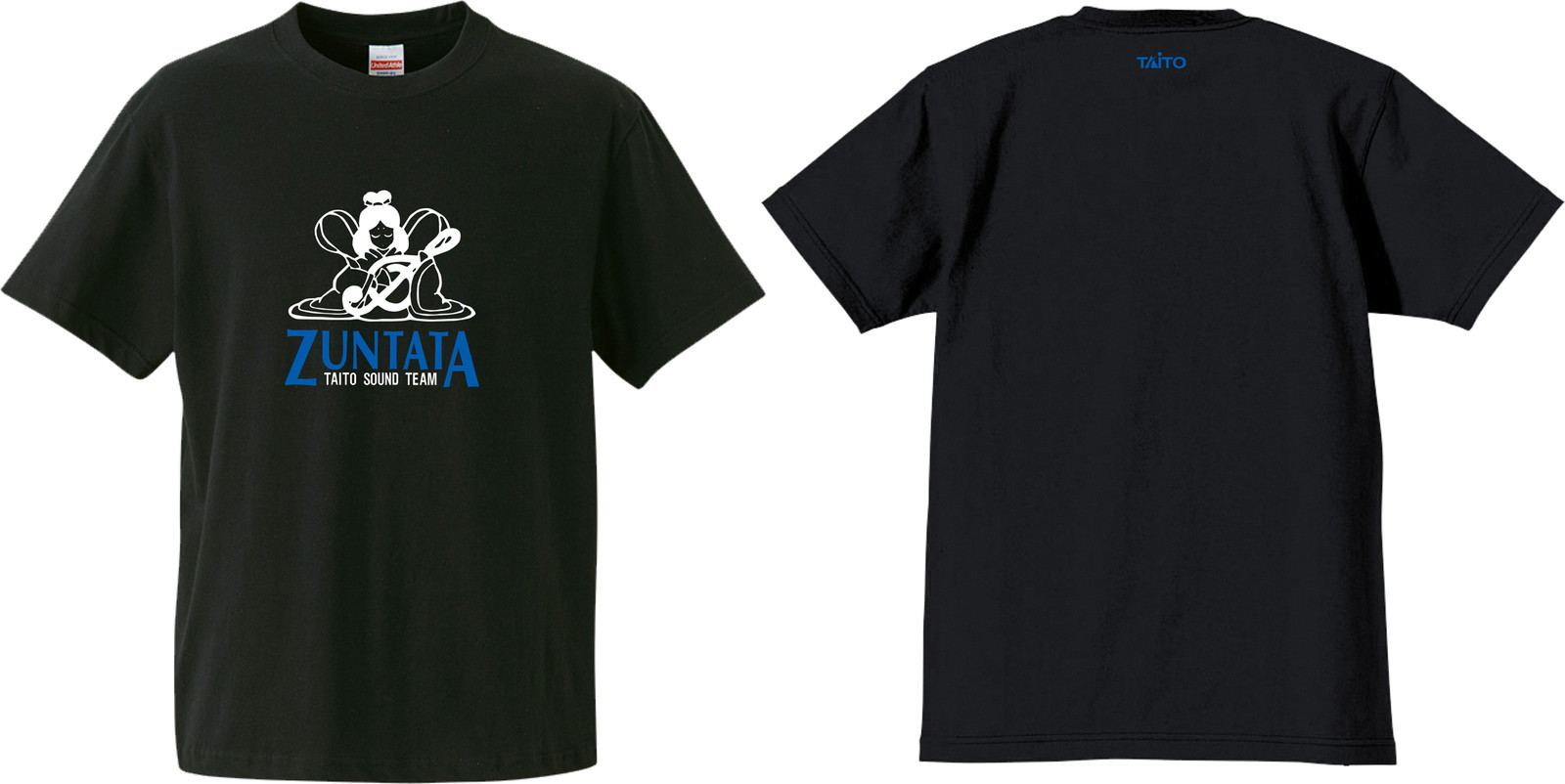 ZUNTATA ロゴ Tシャツ 2nd ブラック
