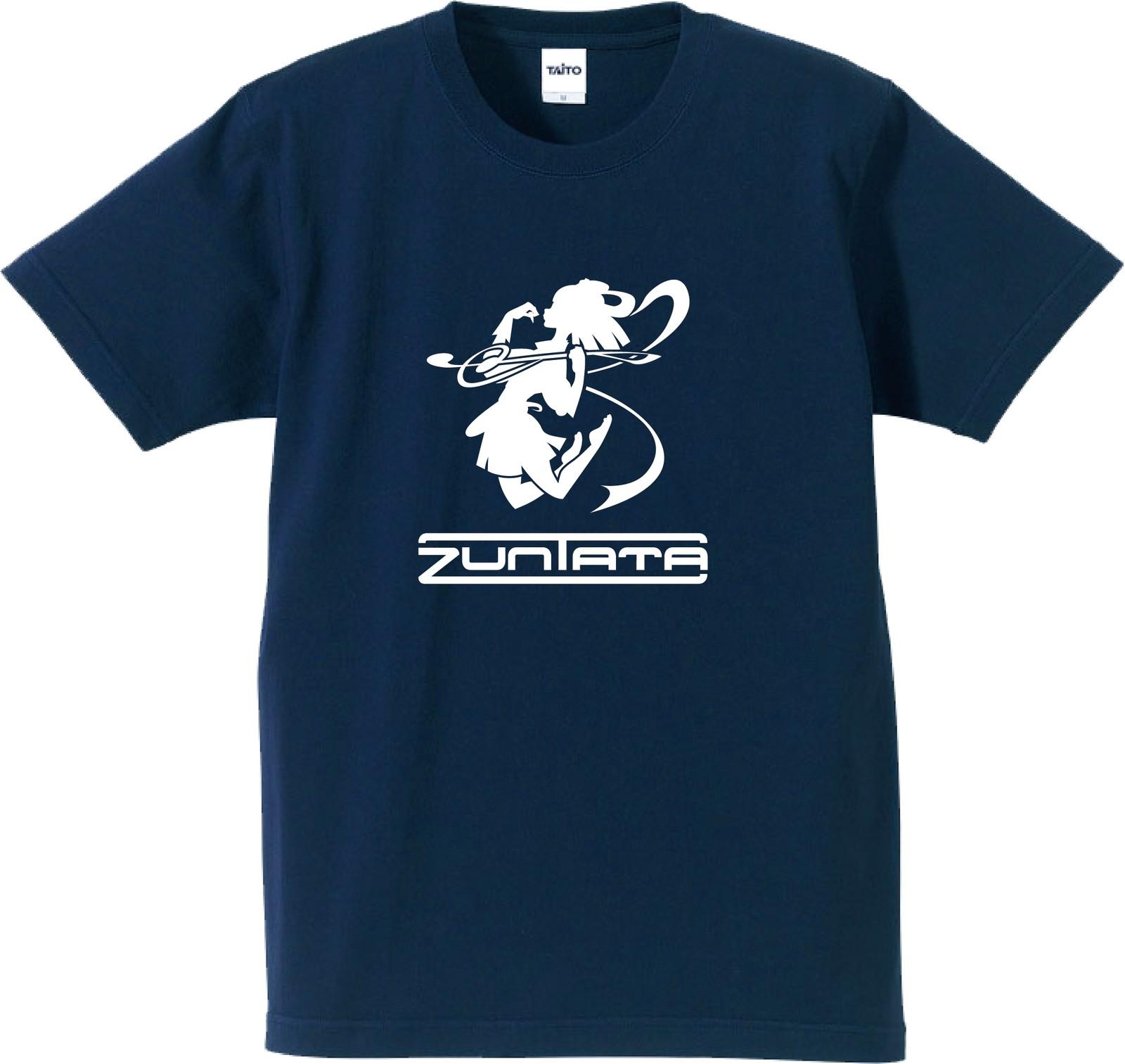 ZUNTATA ロゴ Tシャツ 4th ネイビー