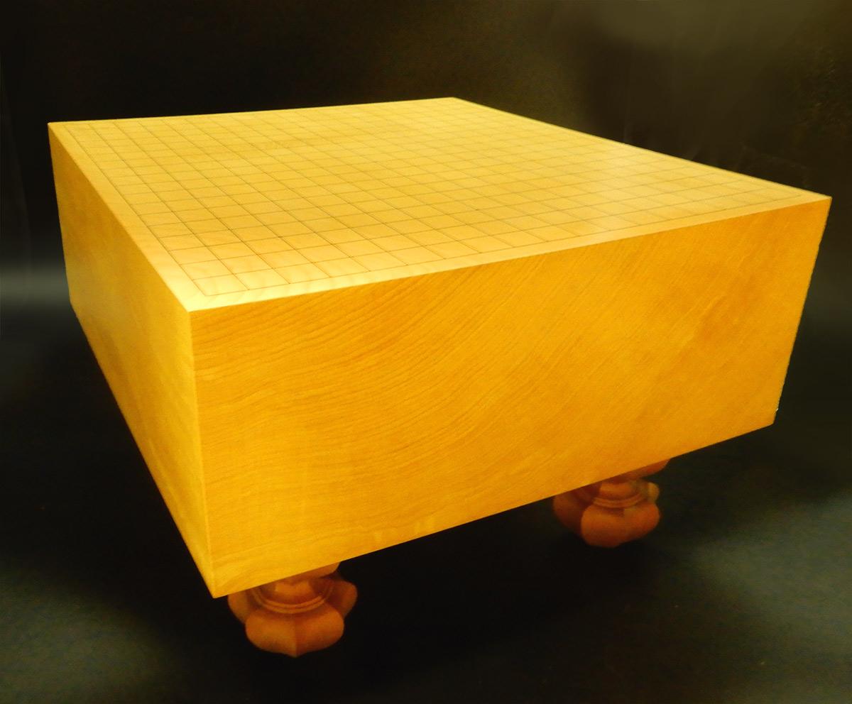 囲碁 本榧5.5寸 I-HKY-0009