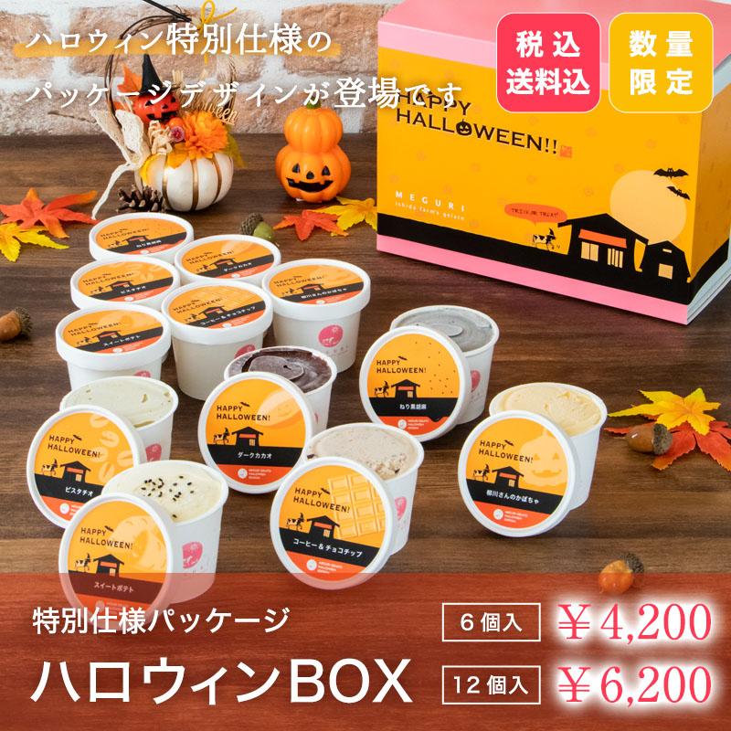 【送料無料】ハロウィンBOX[6個入・12個入]