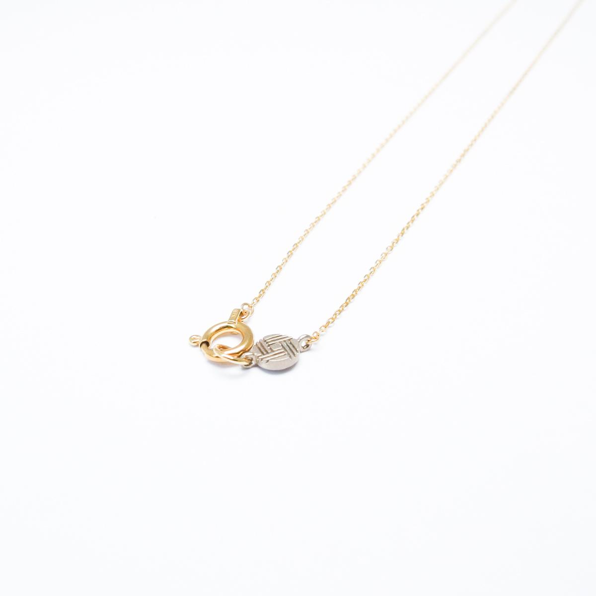K18 ハマナスネックレス [order]