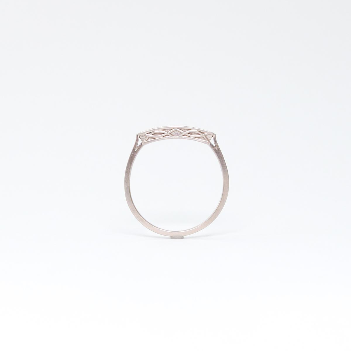 K18 ダイアモンドリング [order]