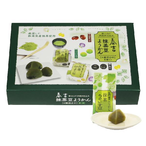 春吉 抹茶豆ようかん 8個入り(全4種)