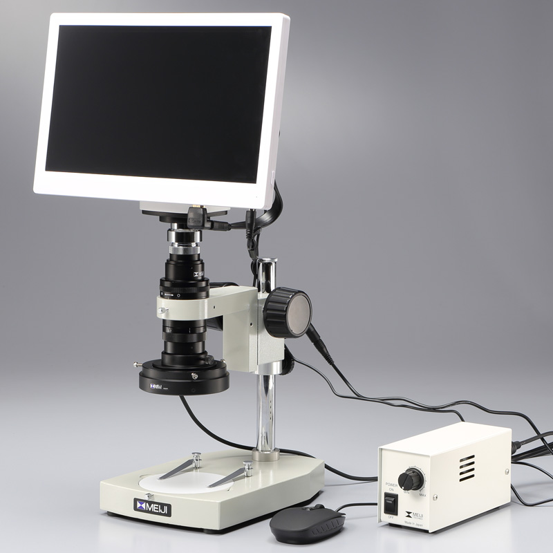 パソコンに繋がずに使える スタンドアロン・マイクロスコープセット  MS-40DR/SAM1