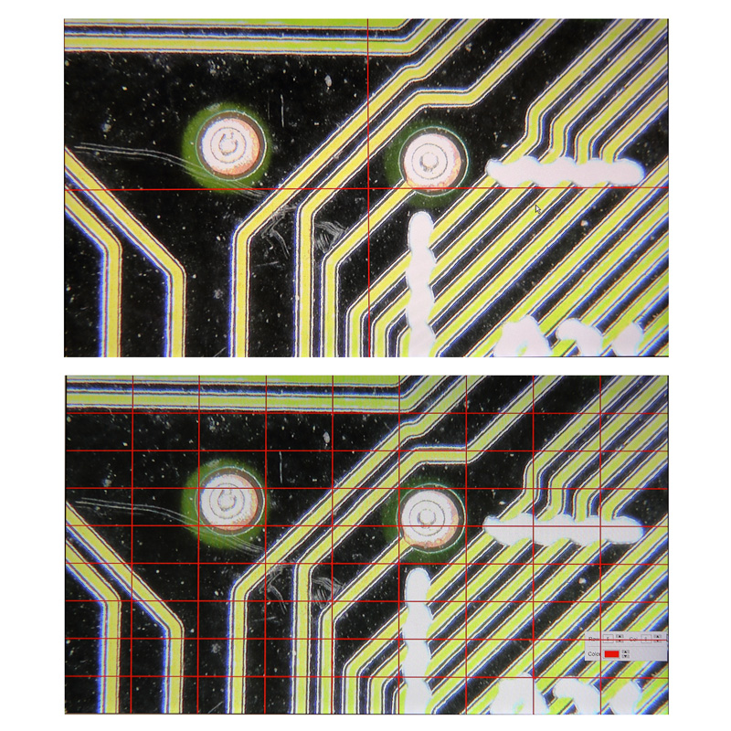 簡易測定機能内蔵 フルハイビジョンCマウントカメラ HD1500M