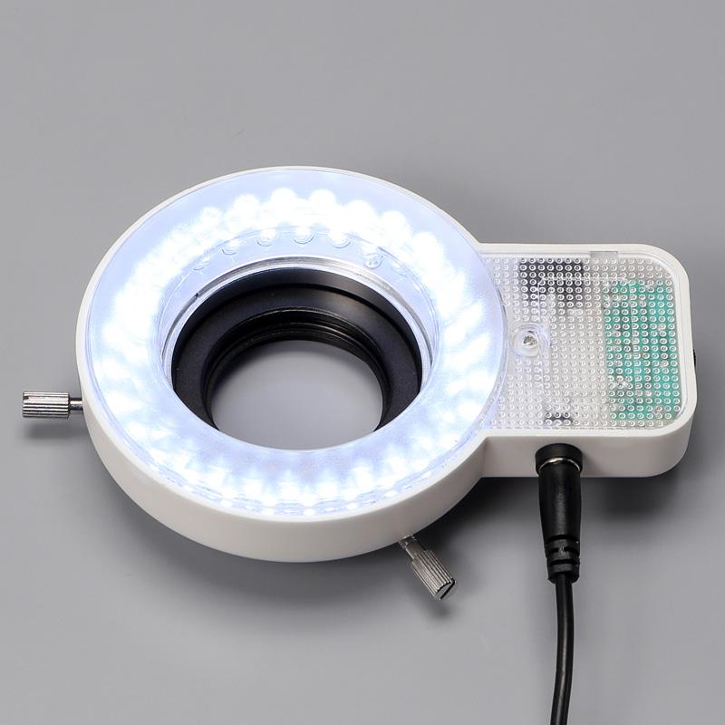 【新発売】ズーム変倍式 三眼実体顕微鏡 リングLED照明付 Cマウント倍率選択可能 EM-51/C/962