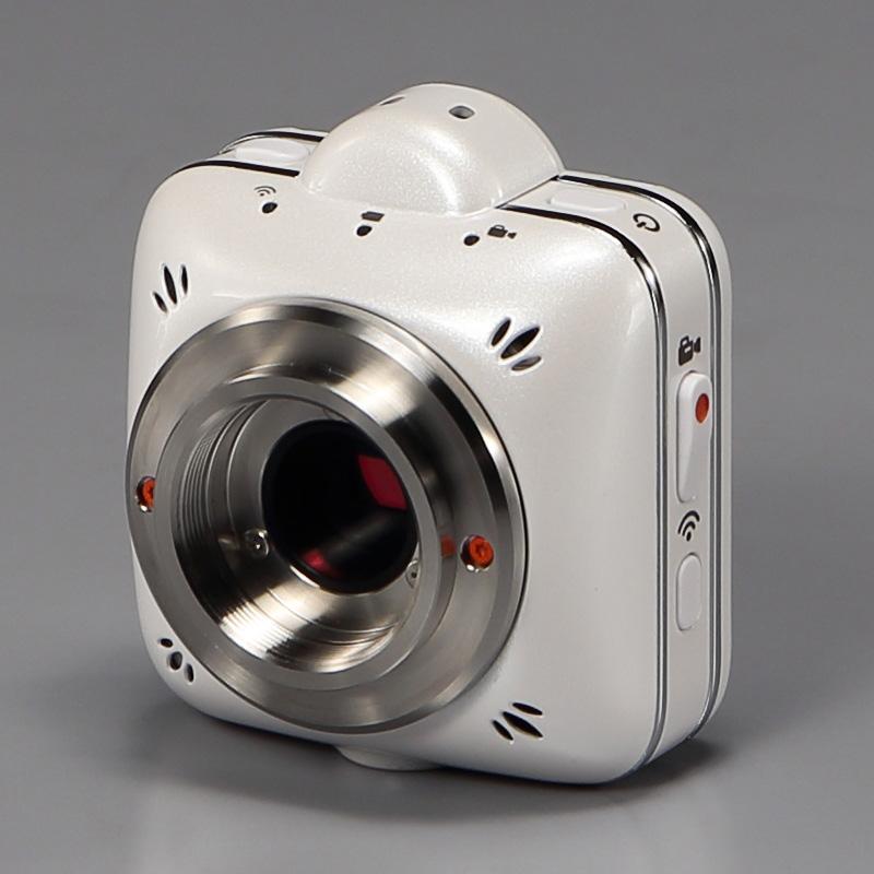 【セットでお得】ズーム変倍式三眼実体顕微鏡+Wi-Fiカメラセット リングLED照明付 EM-51/35/962/500-MC 【直販ショップ限定商品】