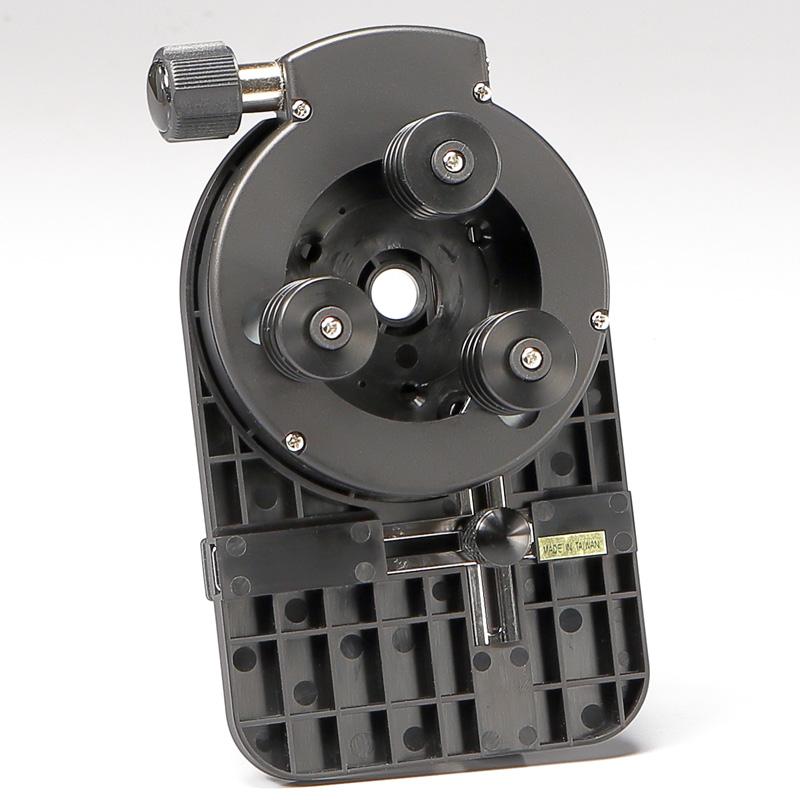 【セットでお得】 ターレット変倍式双眼実体顕微鏡とスマートフォン用カメラアダプターのセット EM-22/VSCA