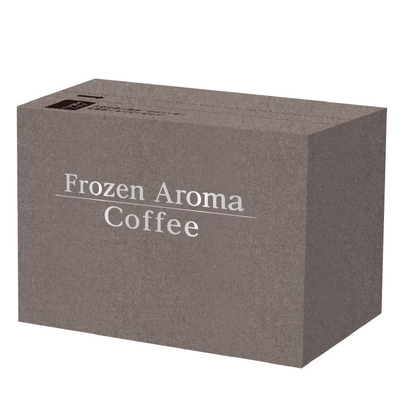 Frozen Aroma Coffee フローズンアロマコーヒー 竹炭焙煎エチオピアモカ8g×5個 (6袋入)30杯分【通信販売限定商品】