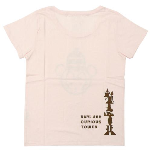 カルルとふしぎな塔 Tシャツ2 ロロ
