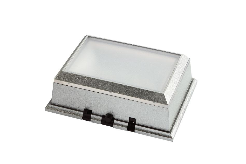 光る台座(角型)「ライトステージ NKLS-46SL」【非回転】【単色モード搭載】フィギュア、ガラス小物展示に!