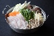 天然クエ(魚体5kg以上使用) 鍋セット(3〜4人前)