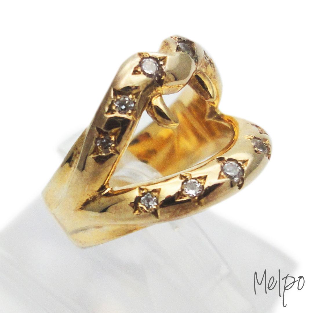 Fang Ring Gold