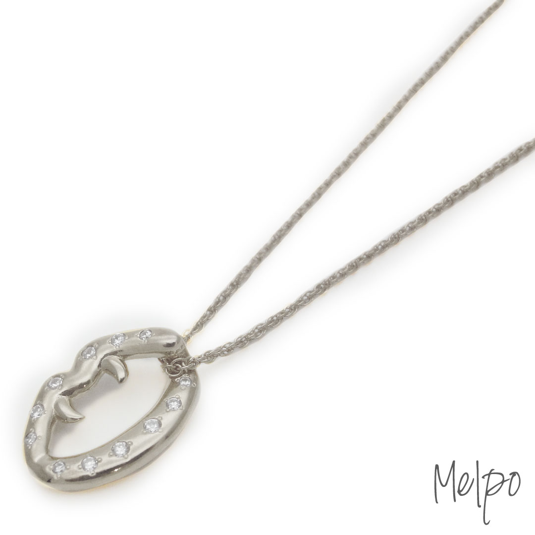 Fang Necklace Silver