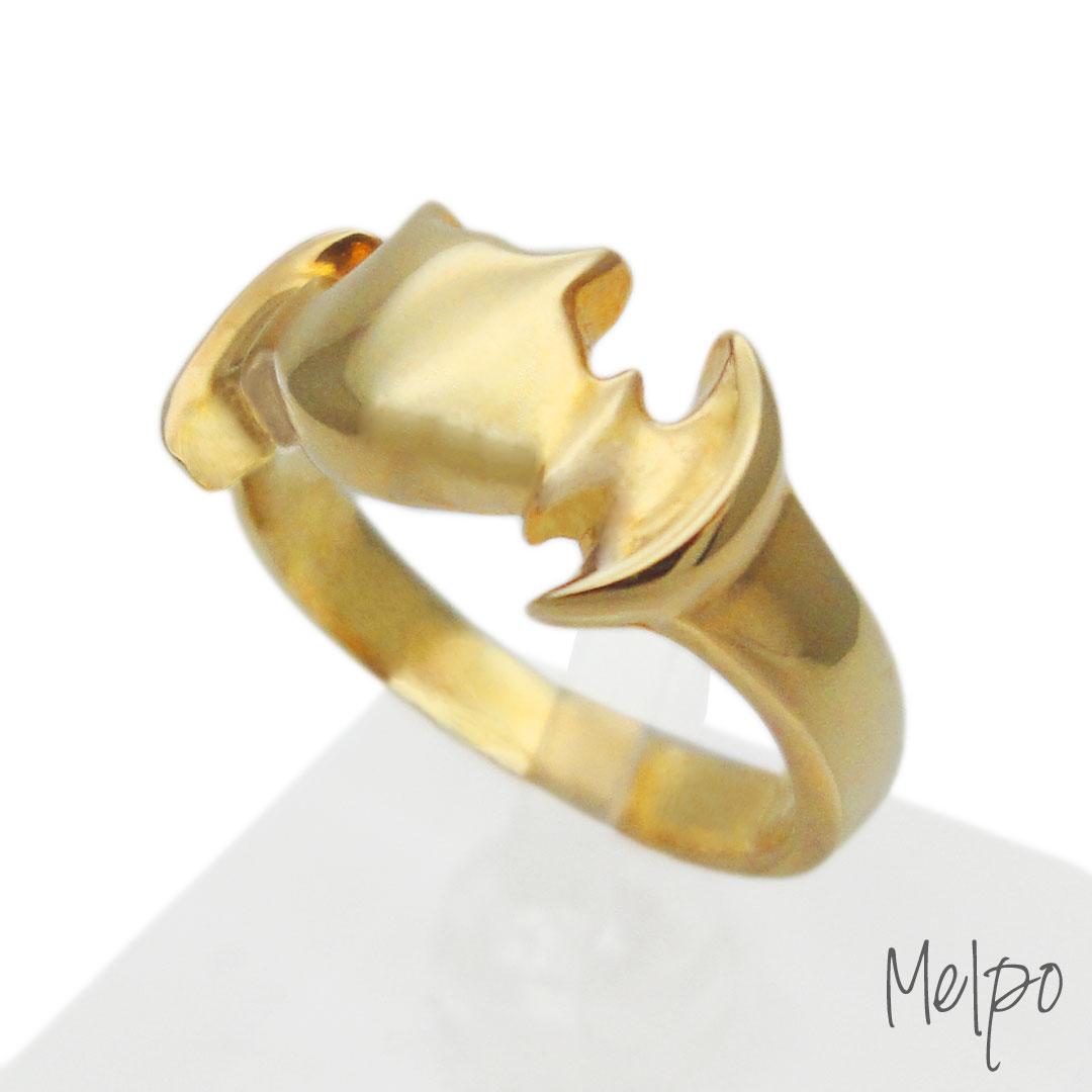 Bat Ring Gold