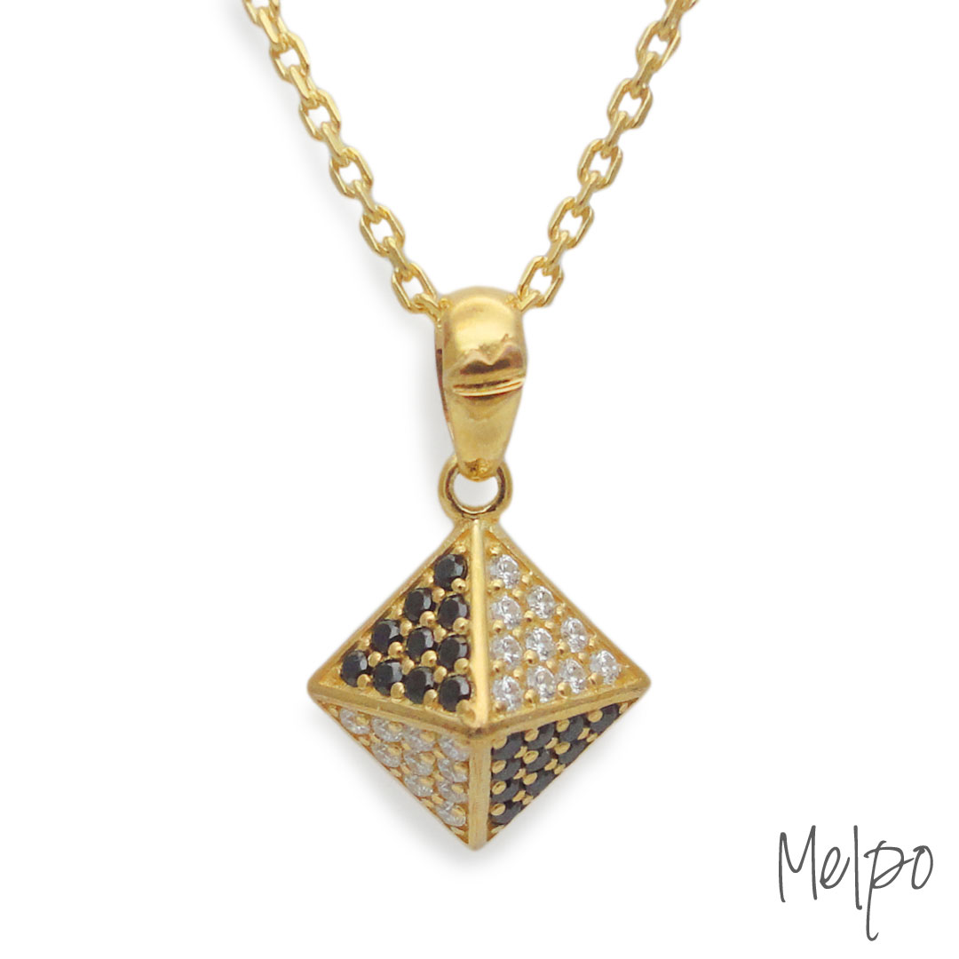 Studs Necklace Gold