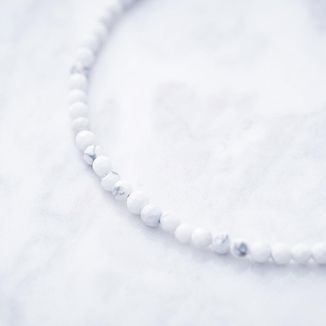 WHITE TURQUOISE CHAIN ホワイトターコイズチェーン