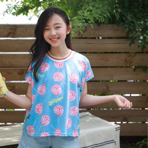 ローリーキャンディー半袖Tシャツ