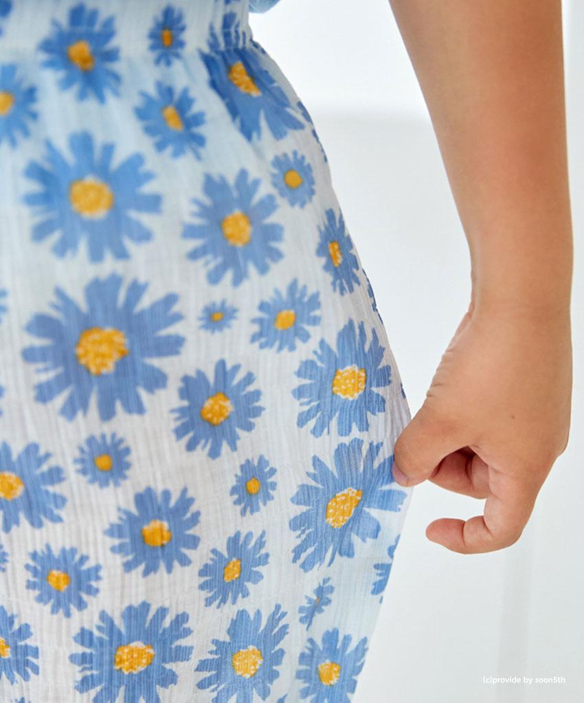 花柄クーリングパンツ