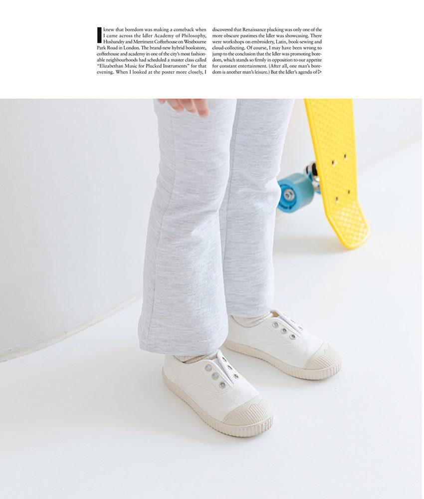 コットン100% ブーツカット パンツ