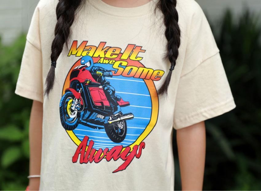 バイク半袖Tシャツ