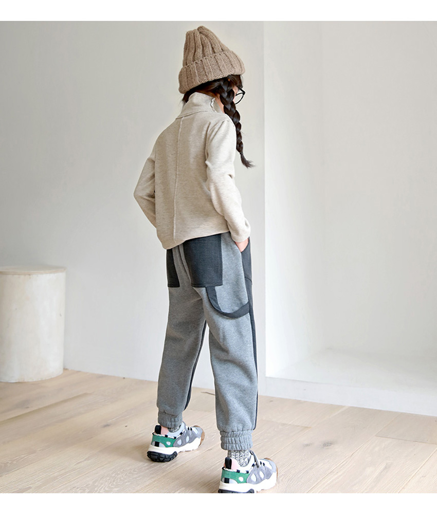 [100cm-150cm]ナイト配色ジョガートレーナーパンツ