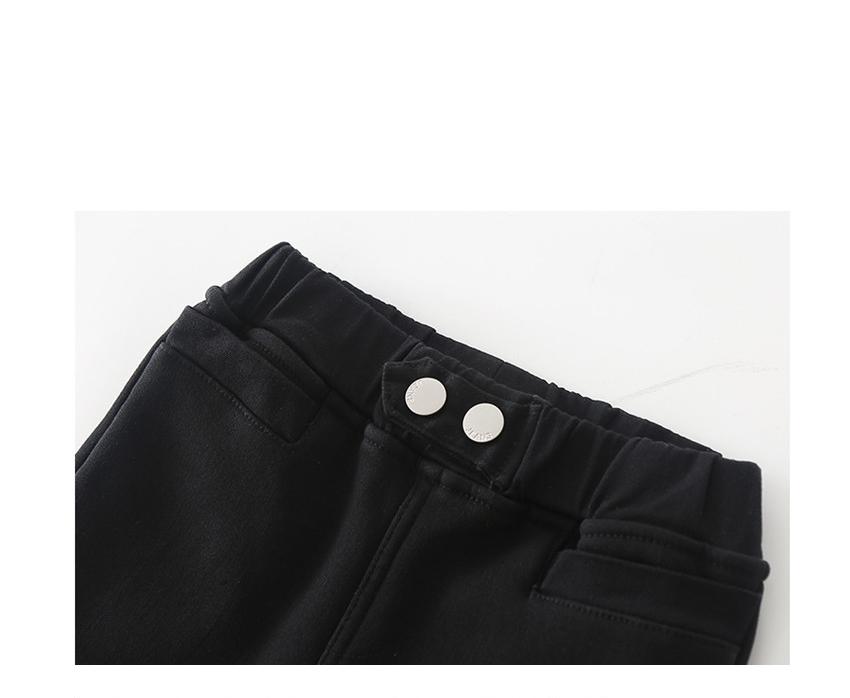 [110cm-170cm]ハイウエストパンツ