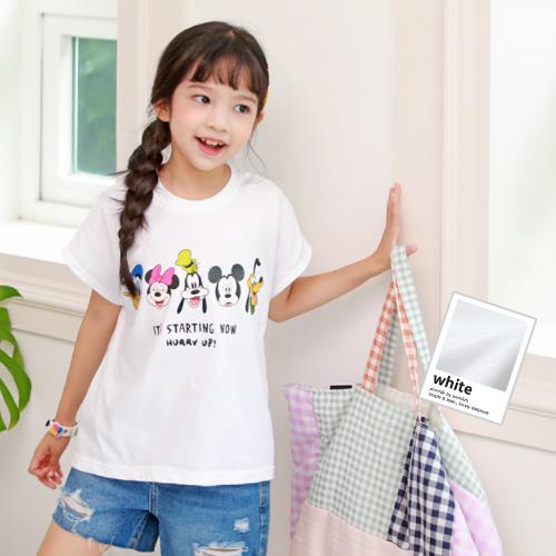 スタティックミッキー半袖Tシャツ